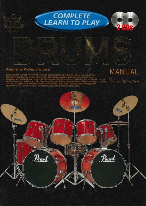 Drums Manual (Complete Learn To Play)