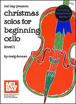Christmas Solos for Beginning Cello (Level 1)