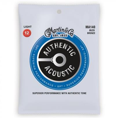 Martin Acoustic Guitar Strings, Light 12 - 54