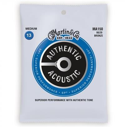Martin Acoustic Guitar Strings, Medium 13 - 56