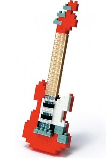 Nanoblock Electric Guitar Red