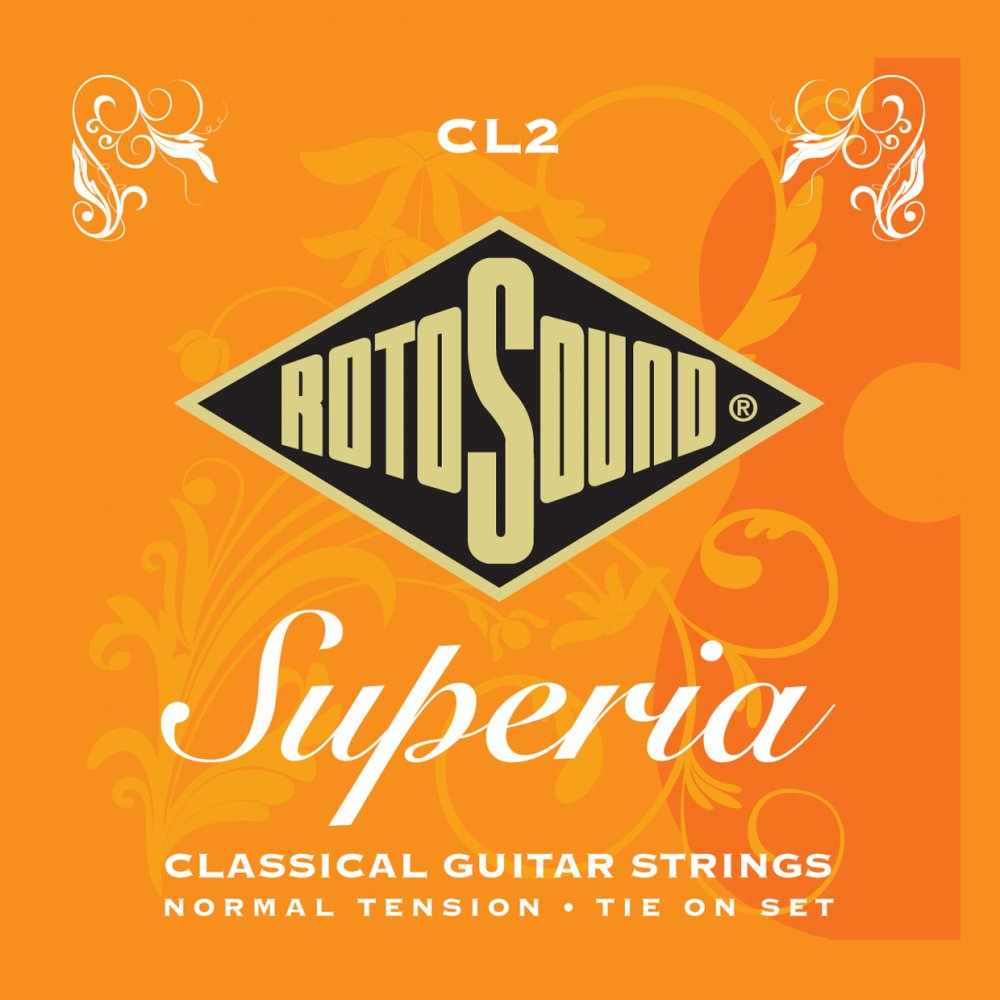 Rotosound Superia Classical Guitar Strings, Normal tension