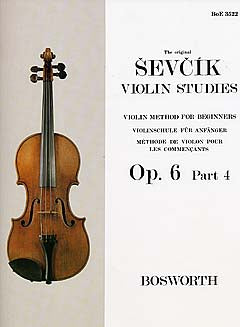 Sevcik Violin Studies Opus 6 part 4