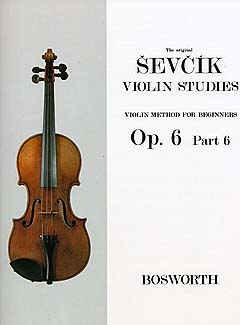 Sevcik Violin Studies Opus 6 part 6