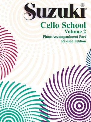 Suzuki Cello School Volume 2 Piano Accompaniment