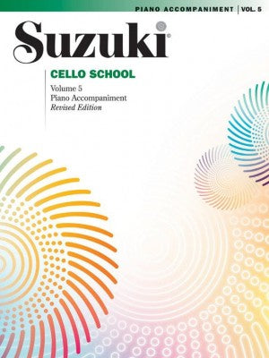 Suzuki Cello School Volume 5 Piano Accompaniment