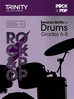Trinity R&P Session Skills Drums, G 6-8 with CD