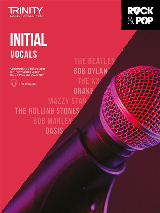 Trinity College London: Rock and Pop Vocals Initial