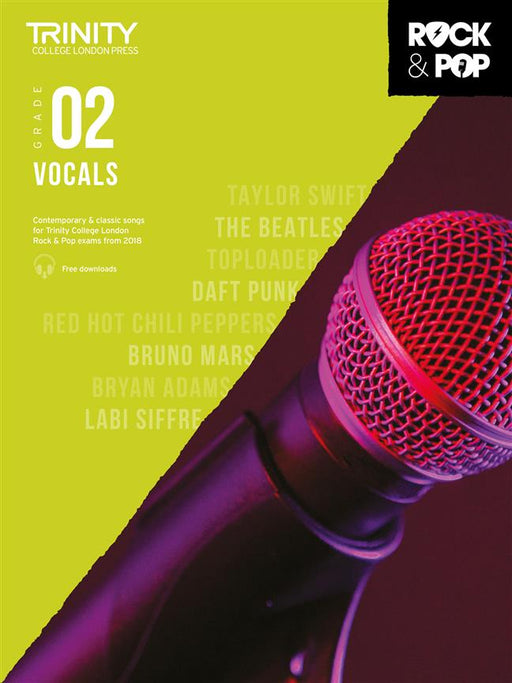 Trinity College London: Rock and Pop Vocals Grade 2