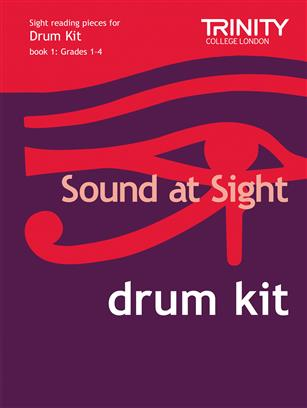 Trinity Sound at Sight Drum Kit, book 1, grade 1-4