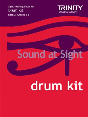 Trinity Sound at Sight Drum Kit, book 2, grades 5-8