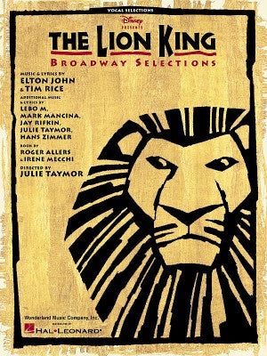 The Lion King: Broadway Selection