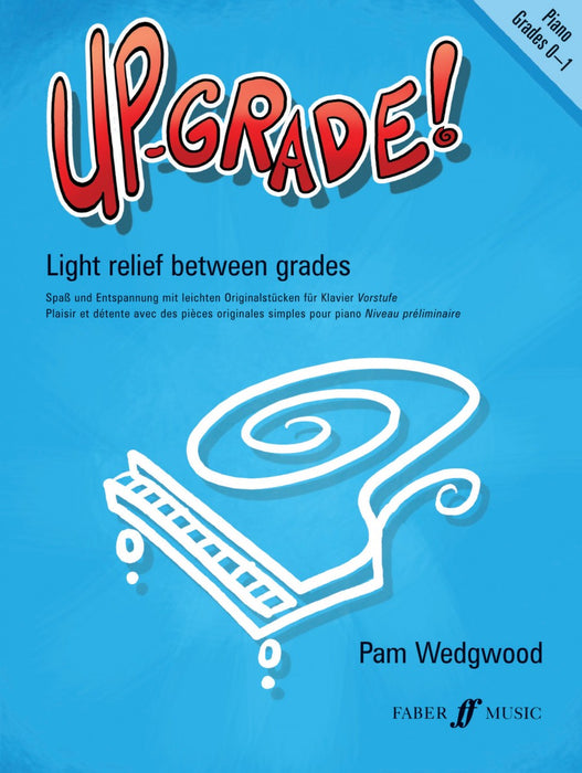 Pam Wedgewood Upgrade Piano Grades 0-1