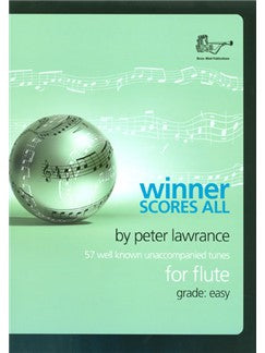 Winner Scores All, by Peter Lawrence, for Flute