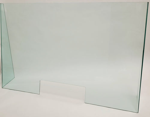 Light Green Acrylic Desk Shield