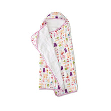 Big Kid Cotton Hooded Towel - Brain Freeze