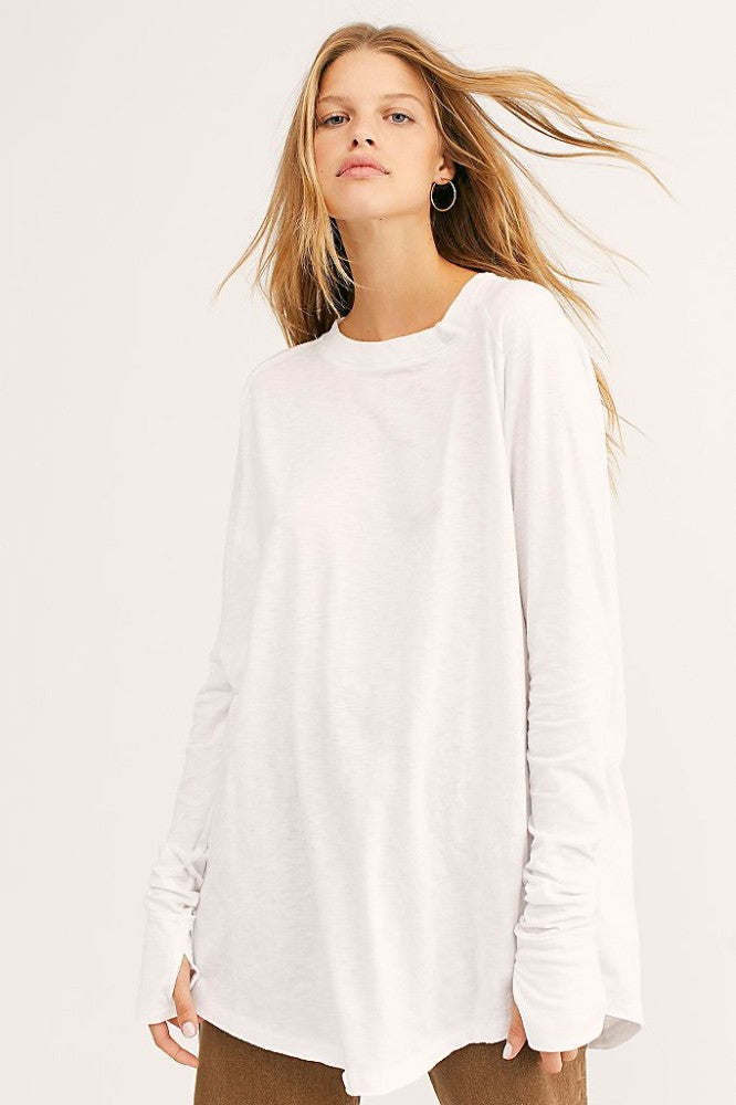 Arden Long Sleeve - White