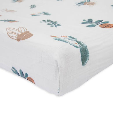 Cotton Muslin Change Pad Cover - Prickle Pots