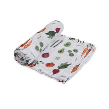 Cotton Muslin Swaddle - Farmer's Market