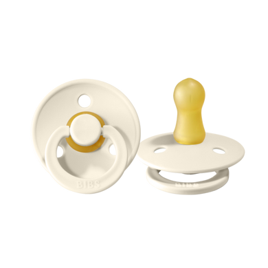 Pacifier (2 Pack)- Ivory