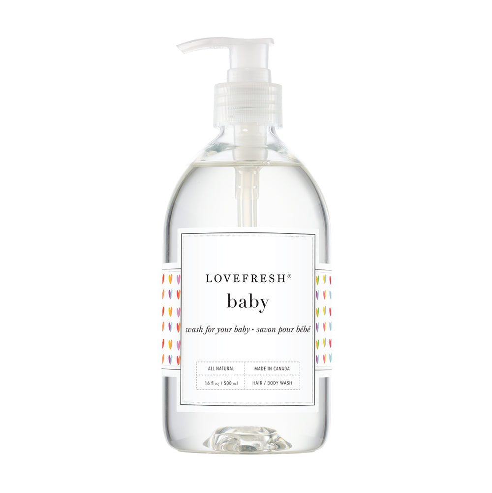 All Natural Baby Wash