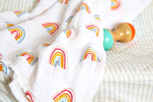 Swaddle Blanket - Rainbows