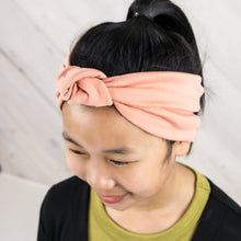 Knotted Headband - Salmon