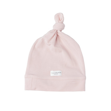 Knot Beanie - Sepia Rose