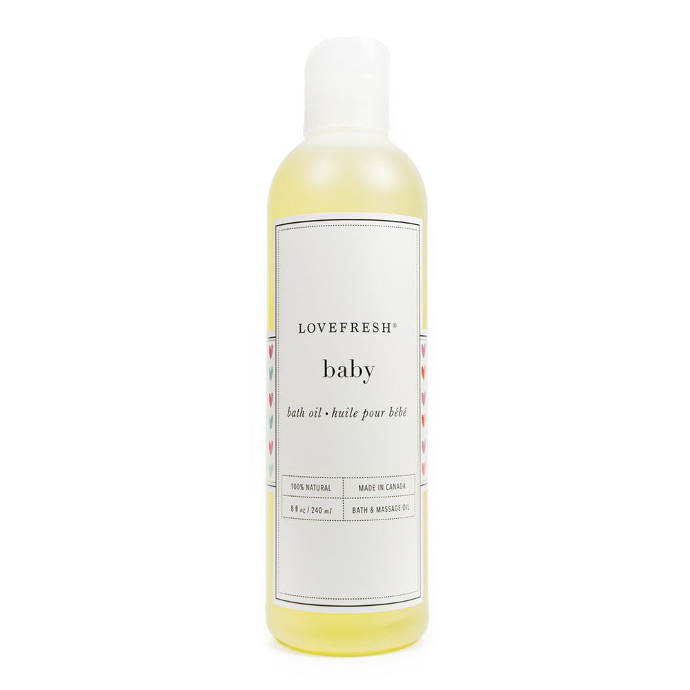 All Natural Baby Bath & Massage Oil