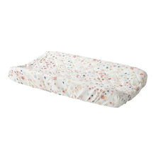 Change Pad Cover - Pink Meadow