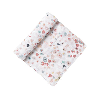 Swaddle Blanket - Pink Meadow
