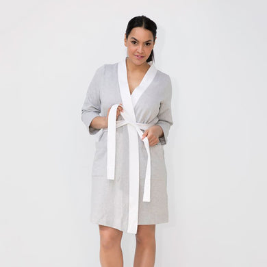 French Terry Ladies Robe