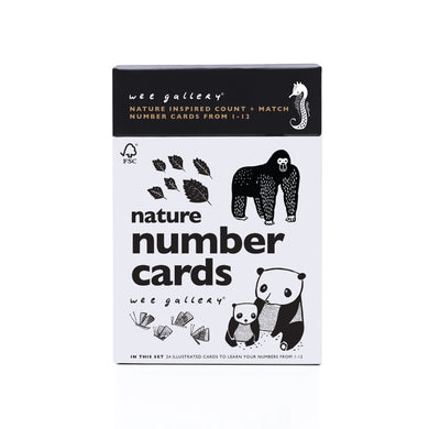 Number Cards for Baby – Nature