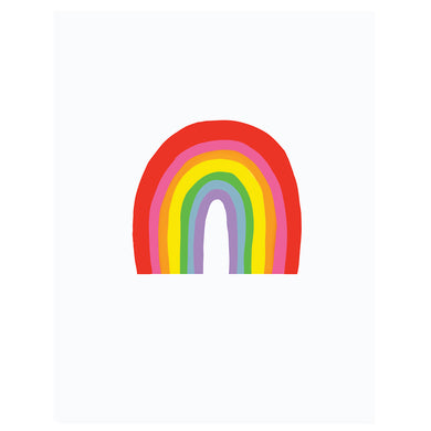 Colourful Art Print - Rainbow