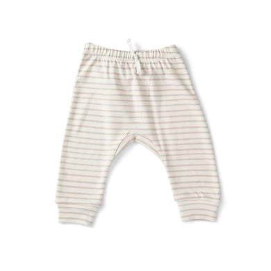 Stripes Away Harem Pant - Petal