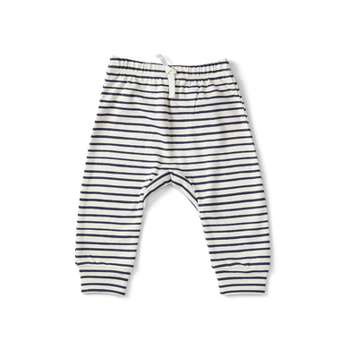 Stripes Away Harem Pant - Ink