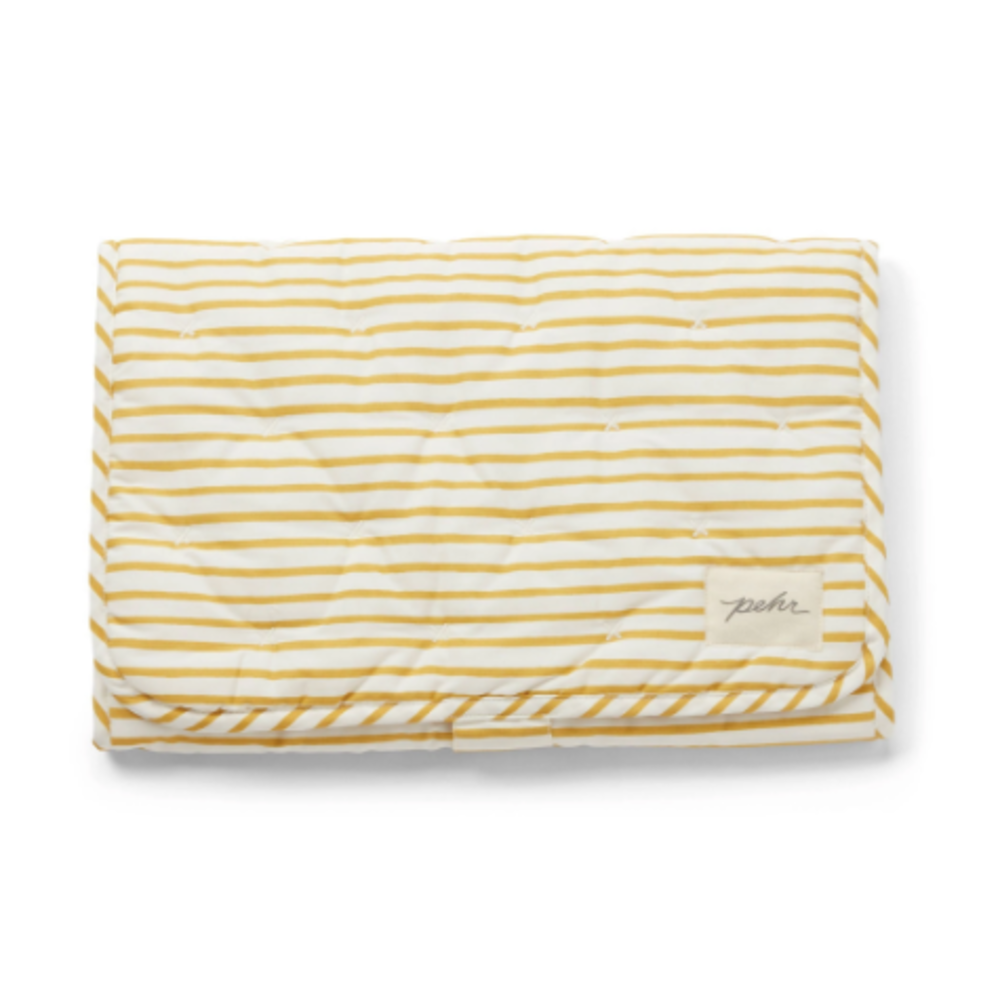 Travel Change Pad - Marigold Stripe