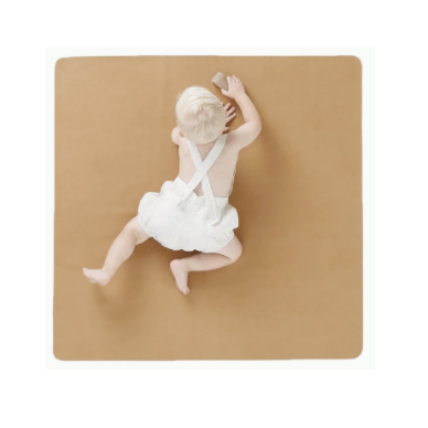 Leather High Chair Mat (Mini) - Camel