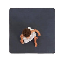 Leather High Chair Mat (Mini) - Raven