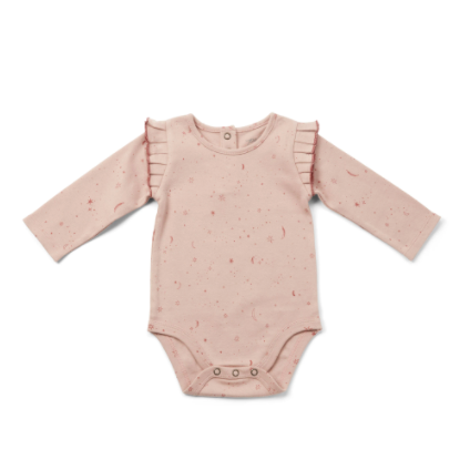 Stardust Long Sleeve Onesie