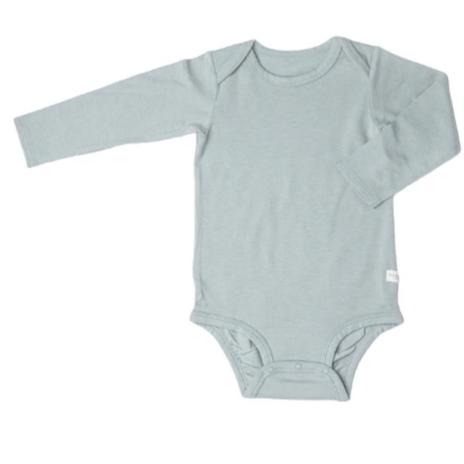 Long Sleeve Bodysuit - Slate