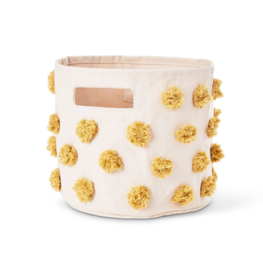 Canvas Pint - Marigold Pom Pom