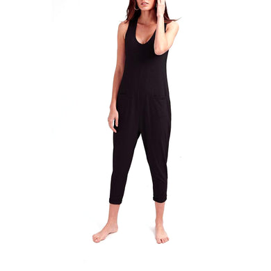 Saturday Romper - Midnight Black