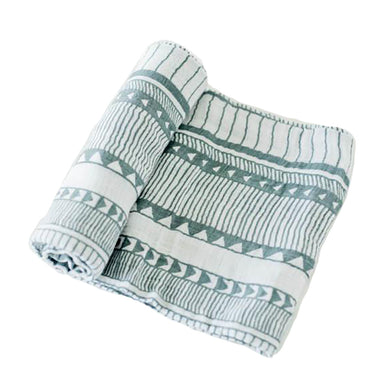 Cotton Muslin Swaddle - Santa Fe