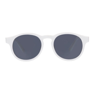 Keyhole UV Sunglasses - White