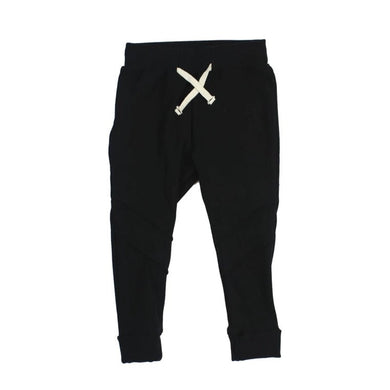 Bamboo Fleece Jogger - Black