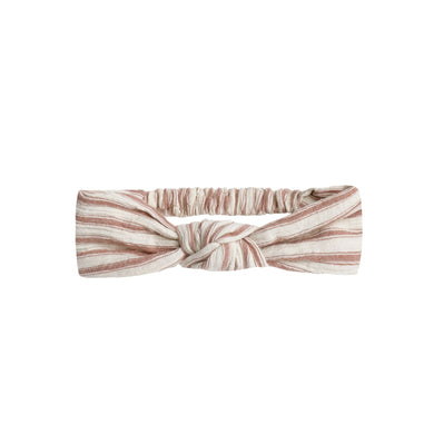 Knotted Headband - Natural Stripe