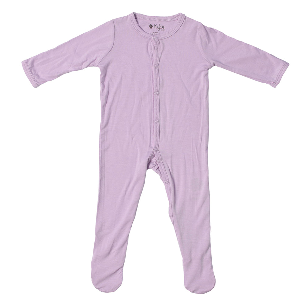 Bamboo Footed Sleeper - Mauve