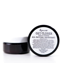 Get Closer All Natural Deodorant - Patchouli/Orange