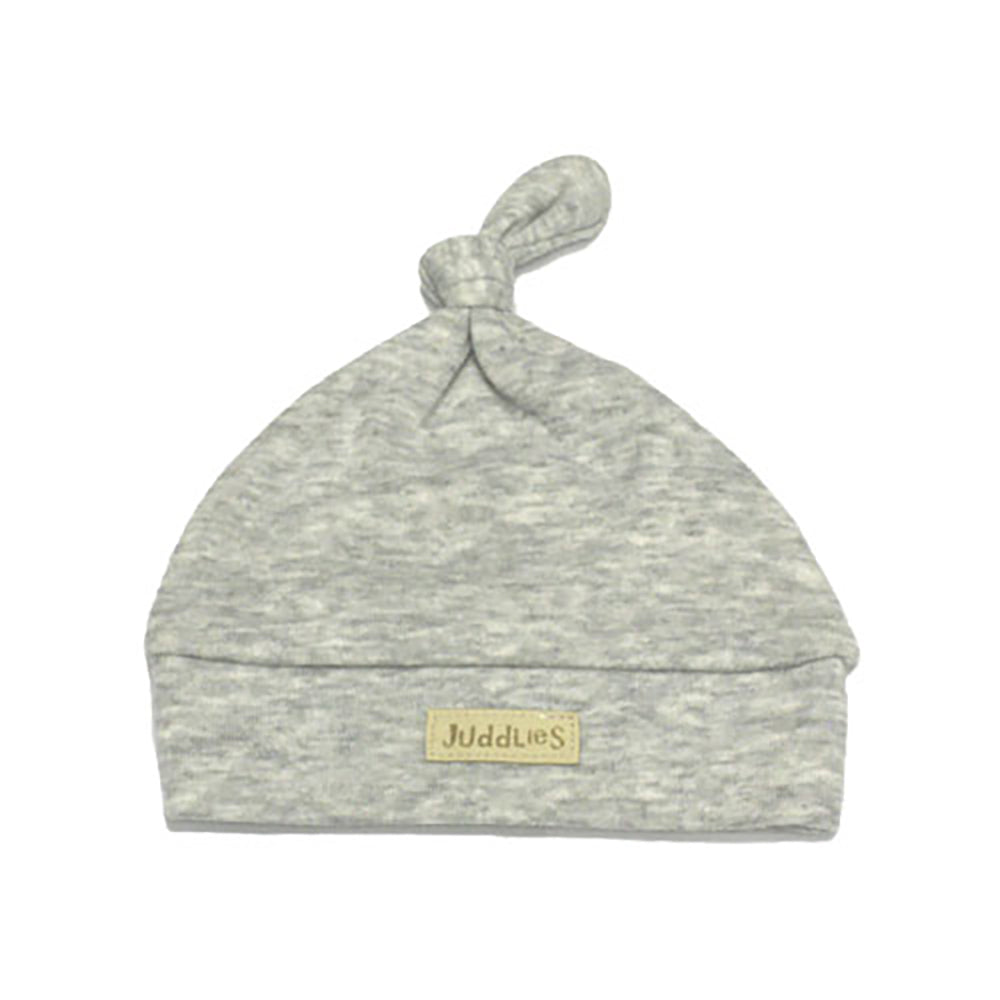 Newborn Hat - Grey Fleck